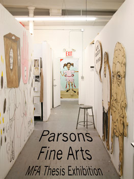 """parsons mfa thesis show Parsons school of design's show """"continuum"""" took place down the street from parsons paris at the mfa design & technology thesis show at."""